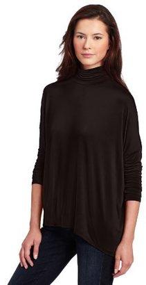 Calvin Klein Jeans Women's Drapy Turtleneck Top