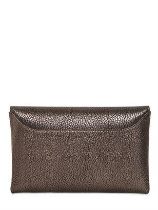 Givenchy Antigona Small Metallic Leather Clutch