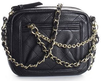 Betsey Johnson Qlassy Quilted Cross Body Bag