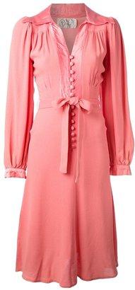 Ossie Clark Vintage belted dress