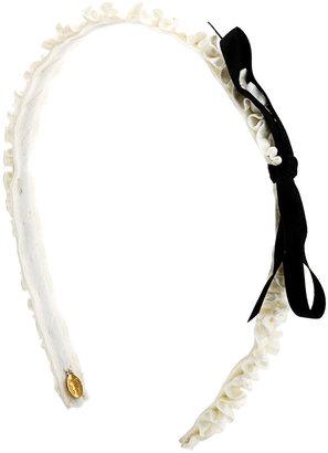 Jennifer Ouellette Skinny Ruffle Headband