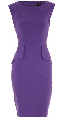 Dorothy Perkins Lilac structured dress