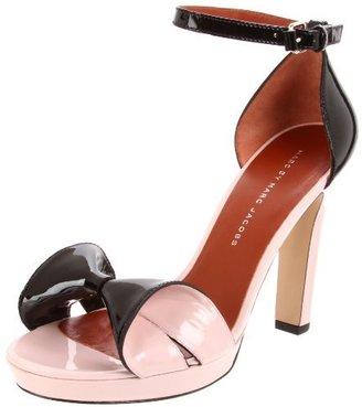 Marc by Marc Jacobs Women's Bow Front Ankle Strap Platform Sandal