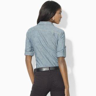 Lauren Ralph Lauren Ralph Carter Roll-Sleeved Shirt