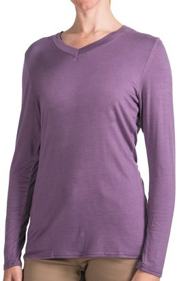 FDJ French Dressing Double V-Neck Shirt - Long Sleeve (For Women)