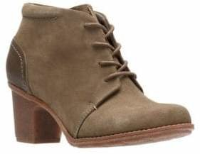 Clarks Collection By Sashlin Sue Suede Booties