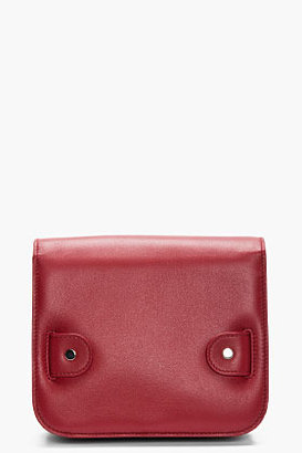 Proenza Schouler Tiny Red Leather PS11 Shoulder Bag