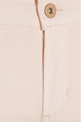 James Jeans Twiggy mid-rise straight-leg jeans