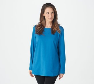 Denim & Co. Active Regular French Terry Tunic