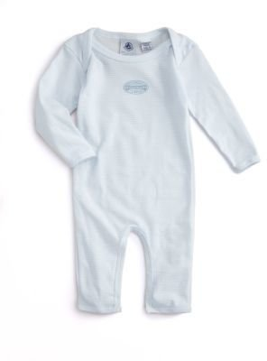 Petit Bateau Infant's Striped Coverall