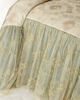 "Crystal Palace 24""L Queen Coverlet"