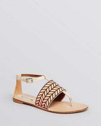 Cynthia Vincent Flat Thong Sandals - Fallon