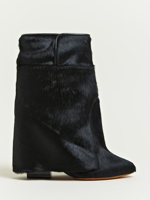 Givenchy Women's Calf Hair Leather Boots