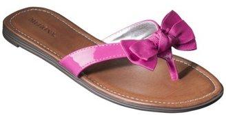 Merona Women's Lavern Flip Flop - Pink