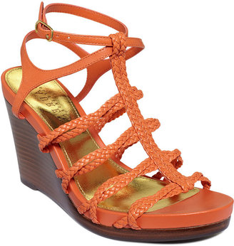 Lauren Ralph Lauren Lauren by Ralph Lauren Shoes, Paisley Wedge Sandals