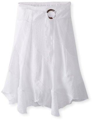 Amy Byer Girls 7-16 Gauze Side Buckle Skirt