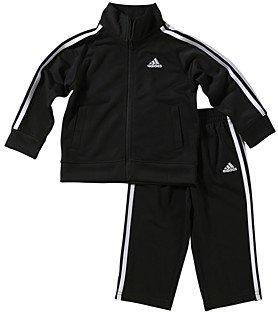 adidas Unisex Tricot Jacket & Pants Set - Little Kid