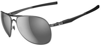 Oakley Men's Plaintiff Aviator Polarized Sunglasses