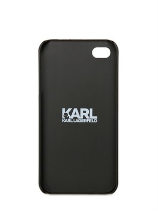 Karl Lagerfeld Printed Tape Iphone Cover