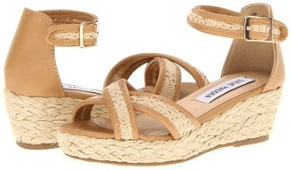 Steve Madden J-Venus (Little Kid/Big Kid) (Natural) - Footwear