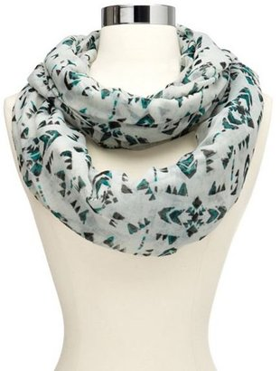 Charlotte Russe Geo Triangle Infinity Scarf