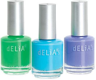 Delia's Bright Nail Polish 3-Pack