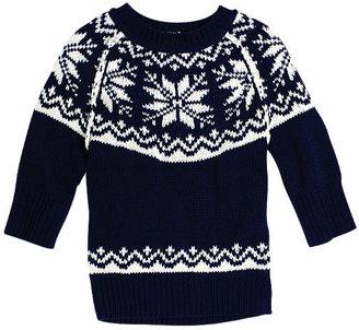 Delia's Brandi Fair Isle Sweater