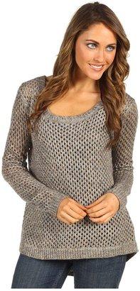 Splendid Twisted Shine Sweater (Copper Shine) - Apparel