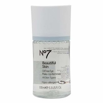 No7 Beautiful Skin Oil Free Eye Makeup Remover