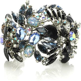 Tom Binns Blue crystal cuff