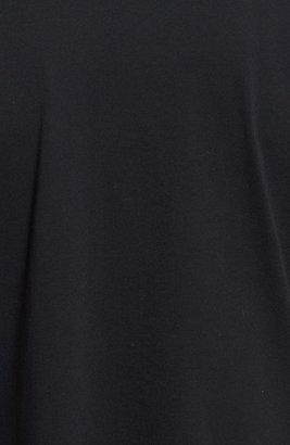 Topman Zip Detail Crewneck T-Shirt