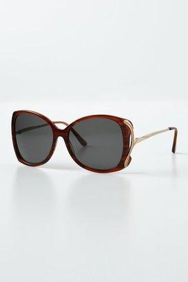 Anthropologie Gilded Perissa Sunglasses