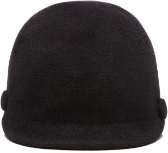 Eugenia Kim Blair Velour Riding Hat