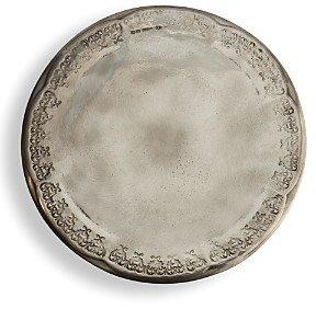 Arte Italica Vintage Pewter Cake Plate