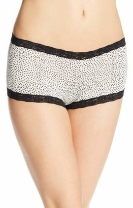 Maidenform Women's Micro Boyshort with Lace, Twinkle, 5 $6.95 thestylecure.com