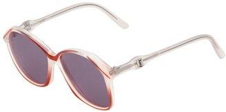 Yves Saint Laurent Pre Owned Butterfly Frame Sunglasses