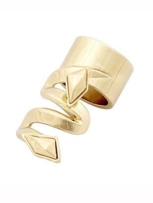 Belle Noel by Kim Kardashian Metal Stone Finger Ring