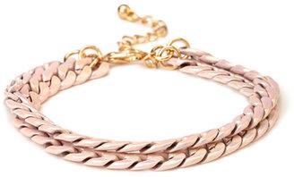 Forever 21 Double Chain Bracelet