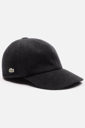 Lacoste Men's Green Croc Wool Poly Cap