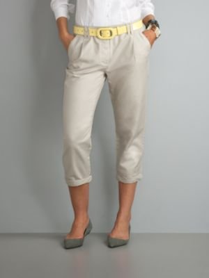 New York & Co. City Style Pegged Crop Pants