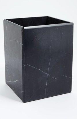 Water Works Waterworks Studio 'Luna' Black Marble Wastebasket