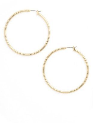 Women's Nordstrom Classic Hoop Earrings (Nordstrom Exclusive) $26 thestylecure.com