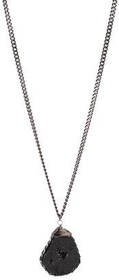 Yochi Design Yochi Druzy Pendant Necklace