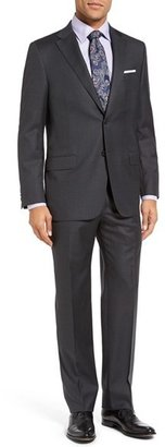 Men's Hickey Freeman 'Beacon - B Series' Classic Fit Wool Suit $1,495 thestylecure.com
