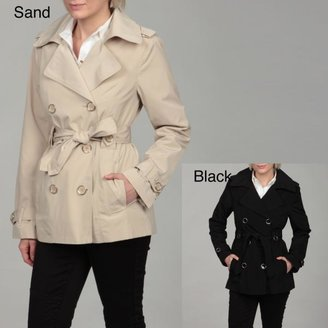 London Fog Women's Double-breasted Belted Coat $37.49 thestylecure.com