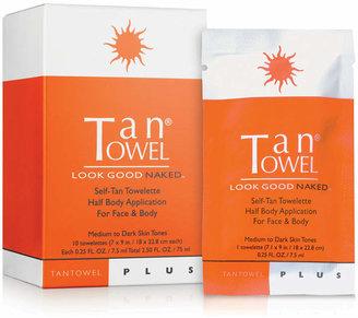 TanTowel Half Body Plus, 10 Pack