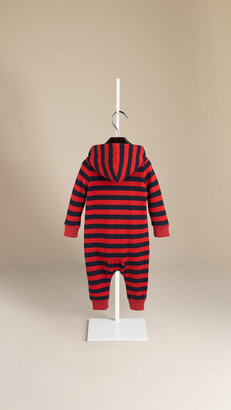 Burberry Baby Knight Hooded Jumpsuit