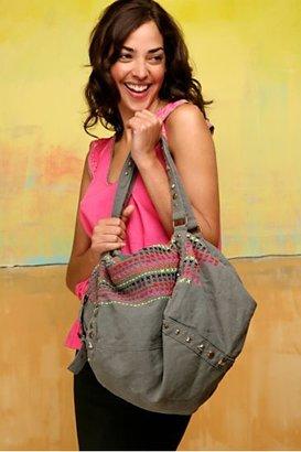 Free People Stitch & Stud Square Bag