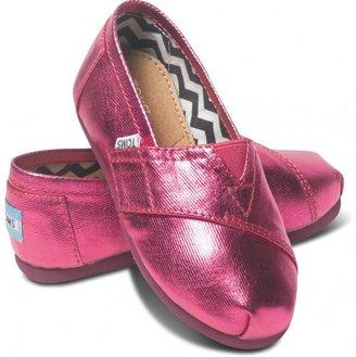 Toms Pink Metallic Tiny Classics