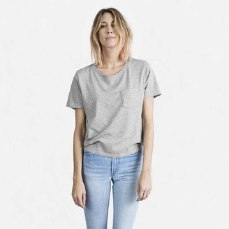The Cotton Box-Cut Pocket Tee